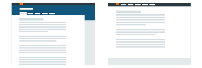 'Tabbed' and 'UI toolbar' navigation examples